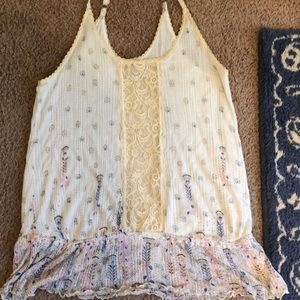 Free people print cami too large